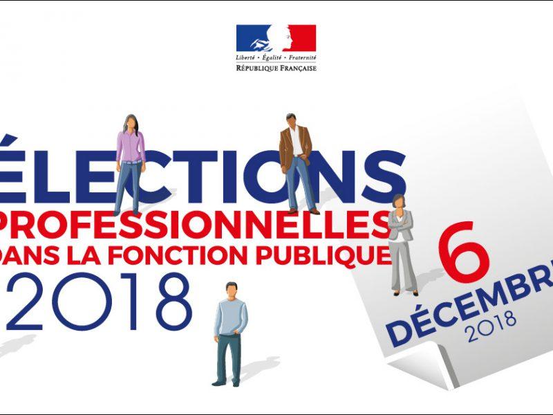 Consultez les Résultats des élections professionnelles du 6 décembre 2018 au CDG