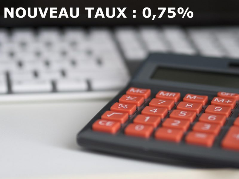 Baisse du taux de la cotisation obligatoire à compter du 1er janvier 2019
