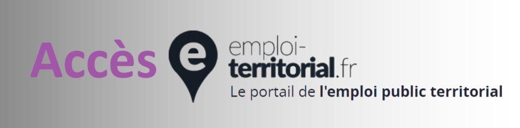 accès emploi territorial site