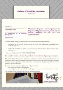 Page 1 bulletin octobre