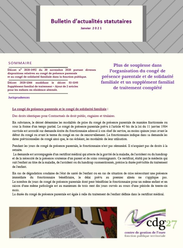 page 1 bulletin janvier